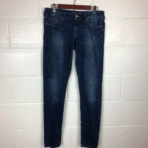 Mavi Serena Low Rise Super Skinny Jeans size 30 32